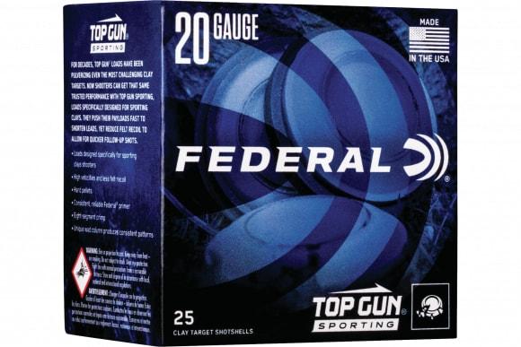 Federal TGS2248 Topgun 20 2.75 7/8 - 250sh Case