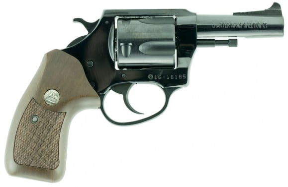 """Charter Arms 34461 Bulldog Special Classic Single 44 Special 3"""" 5 Wood Black"""