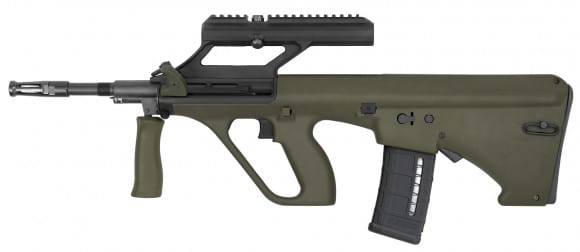 "Steyr AUGM1GRNNATOO3 AUG A3 M1 (3X Optic) .223/5.56 NATO 16"" 30+1 Green Stock"