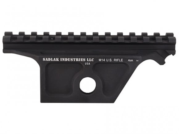 SADLAK M1A, M14 Aluminum Scope Mount Matte Finish