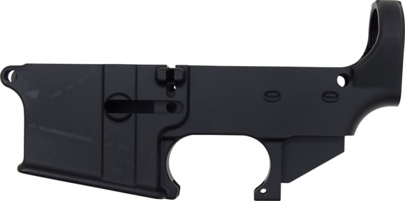 Anderson AR-15 80% Lower Receiver - Black Anodized - No FFL Required