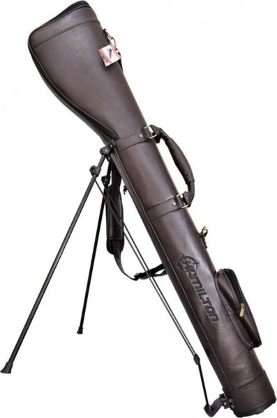 Hamilton Leather SlipStand Gun Case with Pop-Out Stand 50""