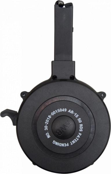 AR-15 / M16 50 Round Drum Magazine .223/5.56