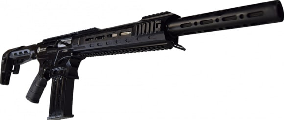 "AR-12 PRO Semi Auto, AR-15 Style 12GA Shotgun by Panzer Arms of Turkey, 3"" Chambers, All Steel Upper and Lower w/ Enhanced Gas System."