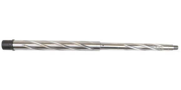 "AR-15 18"" Heavy Barrel, .223 WYLDE, 1:8 Twist, Spiral Fluted, Stainless"