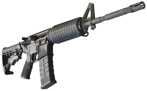 Bear Creek Arsenal AR-15 Rifle .223/5.56 NATO w/ M4 Barrel, Flat Top, 30 Round Mag and Hard Case