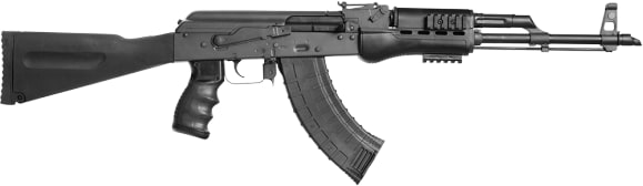 Blackheart Firearms BFV762-B10B-BLKP AK-47 Model B10 7.62x39 - Black with Phoenix Storage Buttstock, Pistol Grip and Handguard