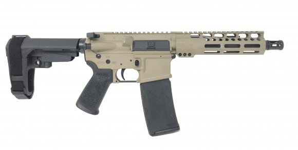 CBC Industries PS2 C556 Forged FDE AR Pistol .223/5.56 w/ SB Tactical SBA3 Brace