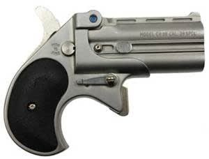 Cobra Derringer Big Bore .38 Special Over/Under Satin/Black CB38SB