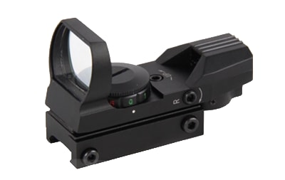 ASI 4 Reticle Tactical Red & Green Illuminated Electro Dot Sight - RT4-03