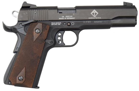 """ATI GSG M1911 .22 LR 10+1 Cap, 5"""" Pistol - Black - GERG2210M1911"""