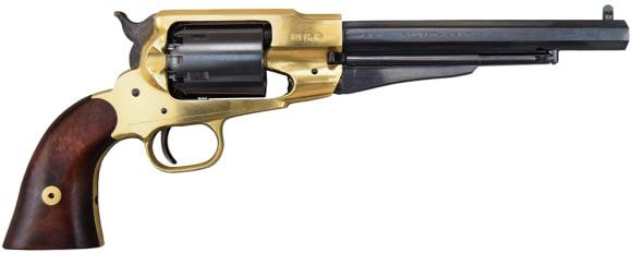 1858 Black Powder Army Revolver .44 Cal Brass - Blued, by Traditions - FR18581, Black Powder - No FFL Required.