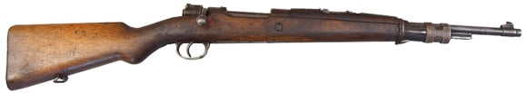 FN 1935 .308 Belgium Rifle, 5 Round Bolt Action, Wood Stock, Adjustable Sights