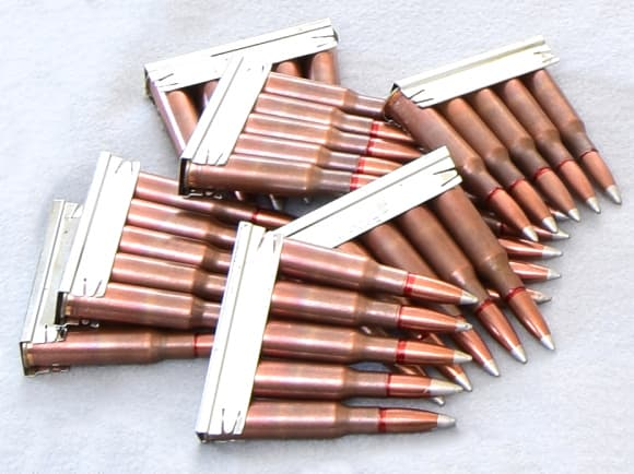 Mosin Nagant Stripper Clips - 10 Pack - Loading Device for all Mosin Nagant Rifles