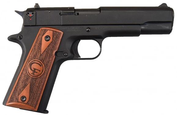 "Chiappa 401.038 1911-22 Semi Automatic Handgun .22 LR 5"" Barrel 10 Rounds Wood Grips Black Finish 1911-22 BLACK"