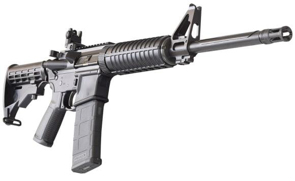 Ruger AR-556, Semi-Auto, 5.56 NATO, Centerfire, 8500