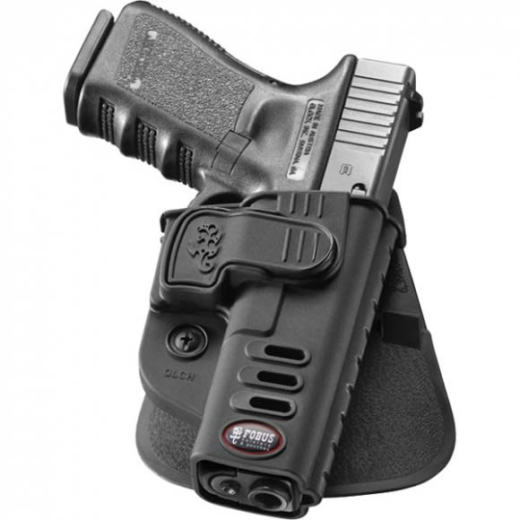 Fobus GLCH Active Retention Paddle Holster for Glock