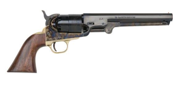 1851 Black Powder Navy Revolver .44 Cal Brass - Blued, by Traditions - FR18512, Black Powder - No FFL Required.