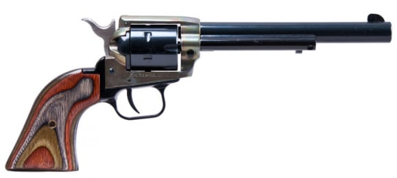 Heritage Rough Rider Revolver - 22LR with Color Case Hardened Frame
