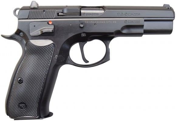 CZ 75 B Full Size 9mm SAO Pistol, (2) 16 Rd Mags, - 91150
