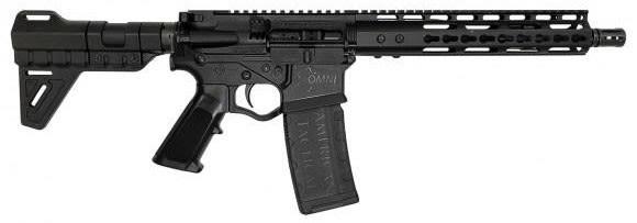 "ATI Omni Maxx Hybrid AR15 Pistol, 5.56 Caliber, 10.5"" BBL, 10"" Keymod Rail w/ Blade Pistol Brace"
