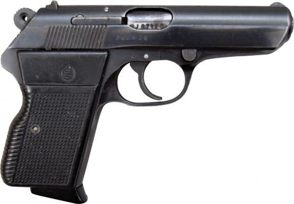 CZ-70 .32 ACP Pistol, Semi-Auto, 8 Round Mag, Surplus - Made in Czechoslovakia
