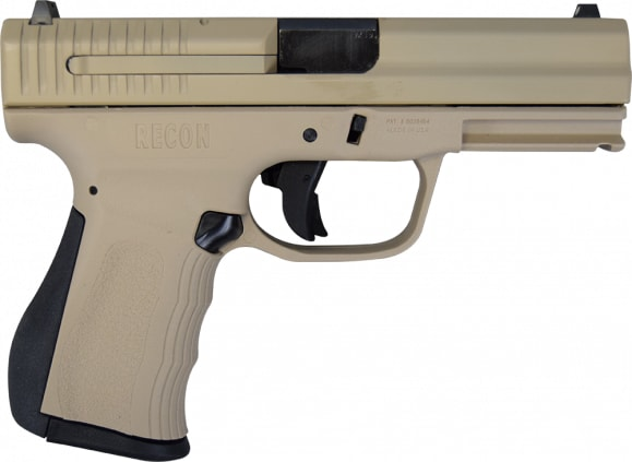 "FMK Recon Pistol in Flat Dark Earth, 9mm, 4"", 14rd - FMKG9C1G2RU"