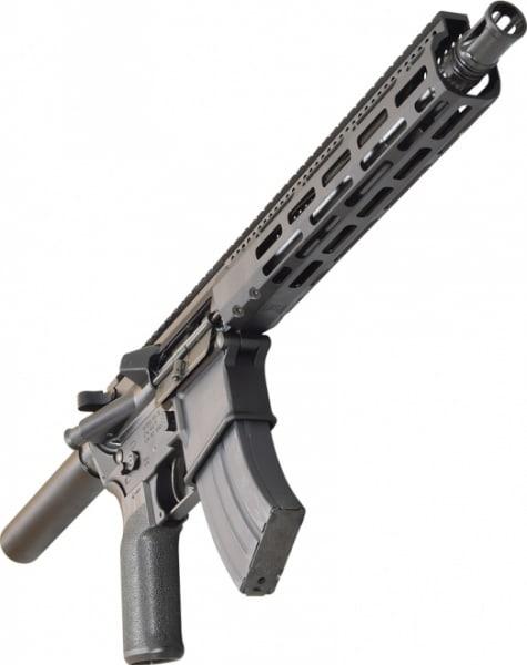"Radical Firearms AR Pistol, 10.5"" 7.62x39 1:10 HBAR Barrels w/10"" MLOK FCR Rail - FP10.5-7.62x39HBAR-10FCR"