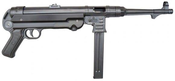 "GSG German Sports Guns GERGMP409X GSG MP-40 Pistol Semi-Auto 9mm 10.8"" Barrel - Black"