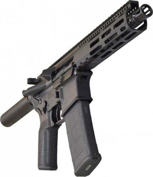 """Radical Firearms 7.5"""" Pistol, 5.56 NATO 1:7 Barrel w/7"""" MLOK FCR Rail - FP7.5-5.56M4-7FCR"""