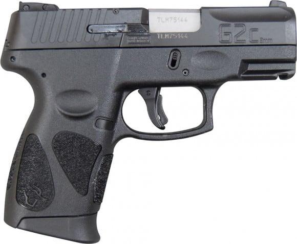 Taurus G2C 9mm, Black- 12+1 W / 2 Mags - Model G2C93112