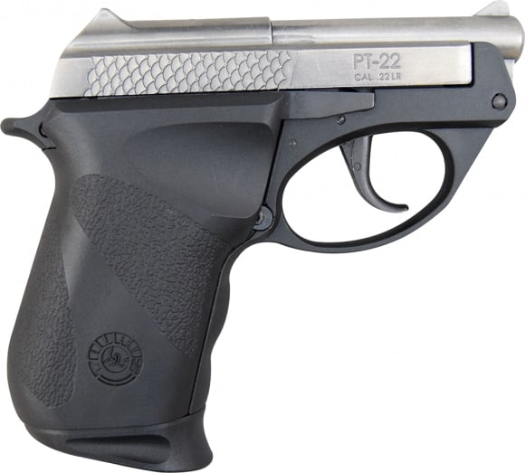 "Taurus 1220039PLY M22 Double 22 LR 2.8"" 8+1 Black Polymer Grip Stainless Steel"