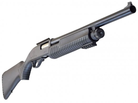 "ATI S-Beam 12G Pump-Action Shotgun w/ Blade Sight, 18.5"" Barrel, Receiver Rail- ATIGMB3R"