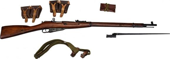 [Auction] Tula 91/30 Mosin Nagant Dragoon Era, 7.62x54R w/ Bayonet, Sling, and Acc.- SN# IOM3888