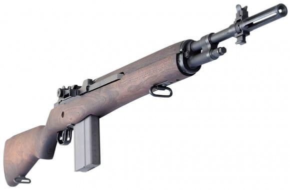 M14 Rifle New - Paratrooper Version, in Original Military Configuration, Walnut, Semi Auto , 7.62x51 NATO / .308 Winchester - By James River Armory.