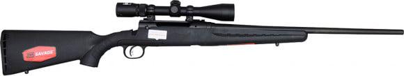 "Savage Arms 22656 AXIS II XP 6.5 Creedmoor, 22"" Accu-Trigger, Nikon 3-9x40 Scope, Black Synthetic"