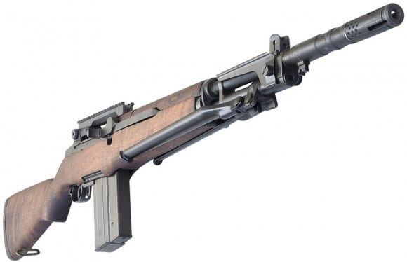 BM-59 Target Master, 7.62 NATO/308 Caliber Mag Fed Semi-Auto Rifle w/ New Barrel on James River Receivers, by JRA - Special Edition, With Scope Mount