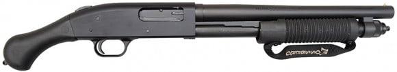"""Mossberg 590 Shockwave 20GA 14"""" 6rd Black w/ Raptor Grip 50657"""
