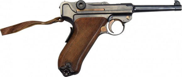 [Auction] Swiss Luger Model 1906 / 24, 7.65 Caliber Semi-Auto Pistol - Very Good condition - SN# 23459