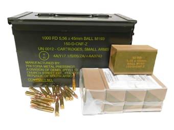 PMP 5.56x45mm 55gr M193 Ball AM2427 - 200rd Battle Pack