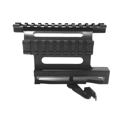 AK Quick Release Side Mount w/ See-Thru Side Rail - MAK009