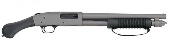 Mossberg 50656 590SP 12 14 6SH Shockwave JIC Cerakote / Stainless Raptor Grip Tactical Shotgun