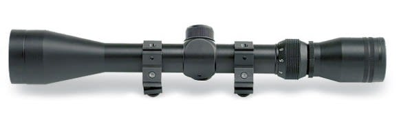 """Nikko Stirling 3x9x40 Variable Power Scope With 1"""" Rings"""