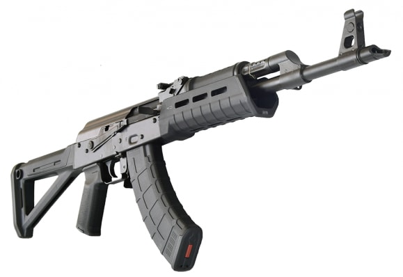 Red Army Standard RAS47 Semi-Auto AK-47 Rifle W / MOE Magpul Furniture, Cal. 7.62x39mm by Century Arms W / 2-30 Rd Magpul Mags
