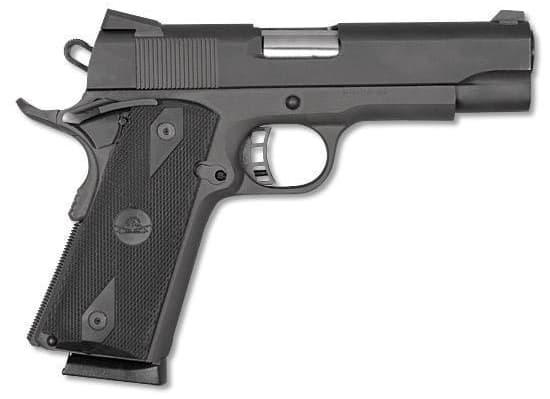 "Rock Island Armory 51443 M1911 A1 MS Pistol .45 ACP 4"" BBL 8rd, Black"