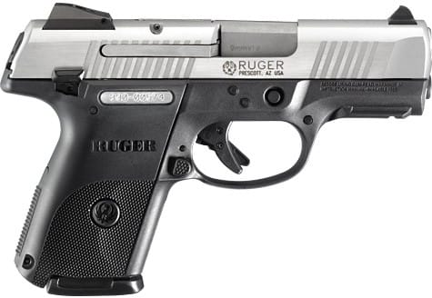 Ruger KSR9C 9mm 17 Round Compact Centerfire Pistol, Stainless 3313