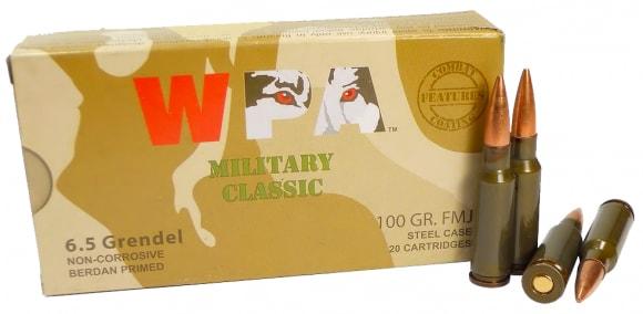 Wolf Military Classic 6.5 Grendel Ammunition