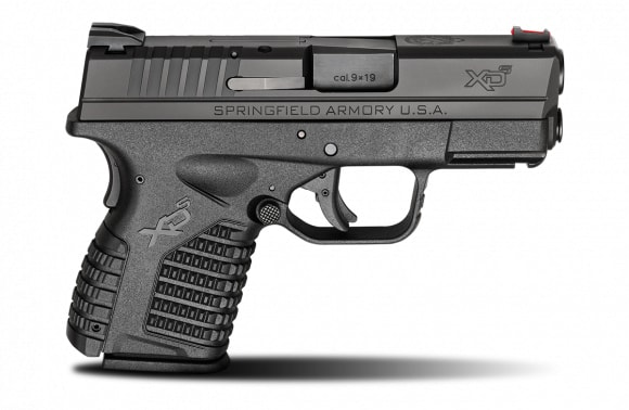 "Springfield Armory XD-S 9mm Slimline Ultra Compact 3.3"" Black 7+1 - XDS9339BE"