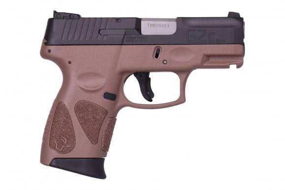 Taurus 1G2C403910B G2C 40S&W 3.2 10rd Black/Brown