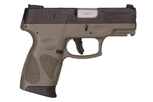 Taurus G2C 9mm Pistol 12+1 Black/ODG - 1G2C93112O